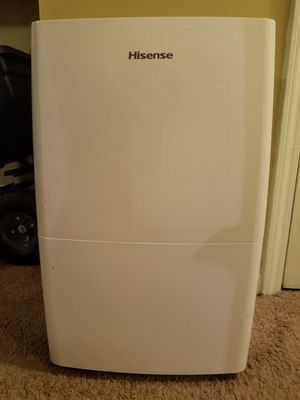 Hisense 70-Pint 2-Speed Dehumidifier with Built-In Pump ENERGY STAR for Sale in Lillington, NC