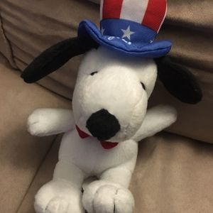 """Peanuts Snoopy USA 7"""" Plush, Metlife, Uncle Sam, 4th of July, 2011 for Sale in Murrieta, CA"""
