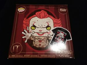 Medium Pennywise pop tee from funko NO FIGURE for Sale in Highland, CA