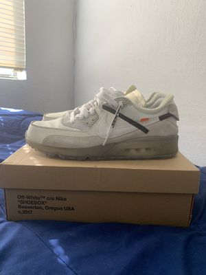 """Nike Air Max """"Off White"""" for Sale in Los Angeles, CA"""
