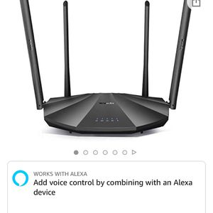 Tenda AC2100 Smart WiFi Router AC19 - Dual Band Gigabit Wireless (up to 2033 Mbps) Internet Router for Home | 4 LAN Ports+1 USB Port | 4X4 MU-MIMO Tec for Sale in Diamond Bar, CA