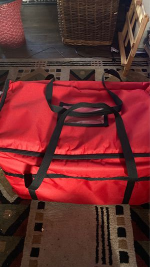 "Insulated Leakproof Cooler Bag / Soft Cooler, Red Nylon, 22"" x 13"" x 14"" for Sale in Sunnyvale, CA"