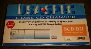 6 Disc Car Audio CD Changer for Sale in Modesto, CA