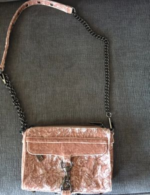 Rebecca Minkoff mini mac velvet bag for Sale in Arlington, VA