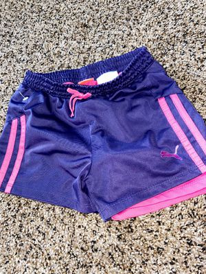 PUMA SHORTS GIRL SIZE 6X for Sale in Oxon Hill, MD