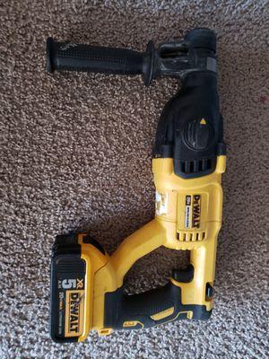 Rotary hammer drill dewalt for Sale in Alexandria, VA