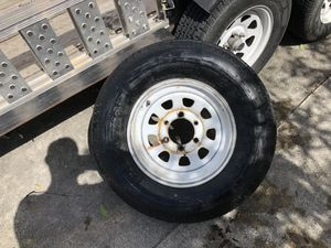 Trailer tire ST 225/75R 15 for Sale in Miami Gardens, FL
