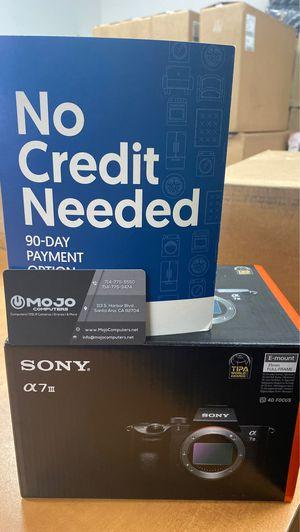 Sony a7 iii camera for Sale in Santa Ana, CA