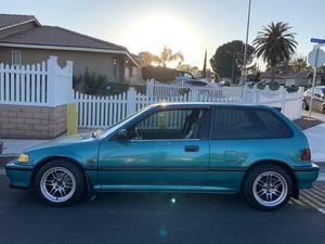 1991 Honda Civic Ef Hatch Back for Sale in Riverside, CA