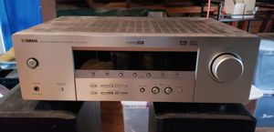 Yamaha receiver 5730 with 2 polk audio speakers for Sale in Norwich, CT
