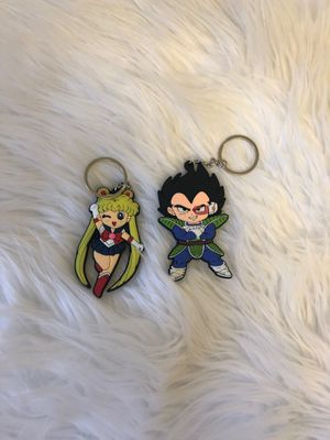 Sailor moon and Dragon ball z keychain for Sale in Los Angeles, CA