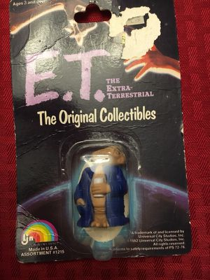 4 Vintage Collectible And Unopened E.T. Toys for Sale in Suwanee, GA