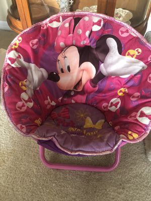 Minnie Mouse collapsible kids chair for Sale in Cape Coral, FL