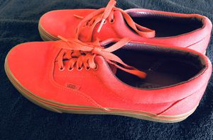 MEN'S RED VANS for Sale in Pomona, CA