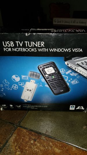 HP USB TV TUNER for Notebooks with Windows Vista for Sale in Richardson, TX