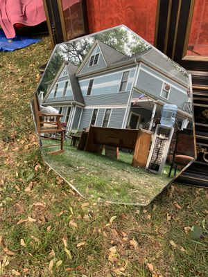 Vintage Eight-Sided Mirror for Sale in Naperville, IL