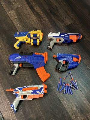 Nerf guns no jams work great for Sale in Houston, TX