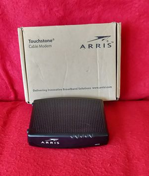 ARRIS TOUCHSTONE MODEM for Sale in Lakewood, WA