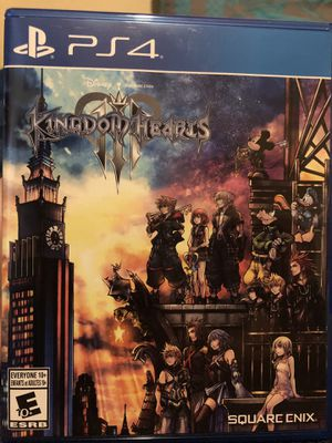 Kingdom hearts 3 for Sale in Santa Clara, CA