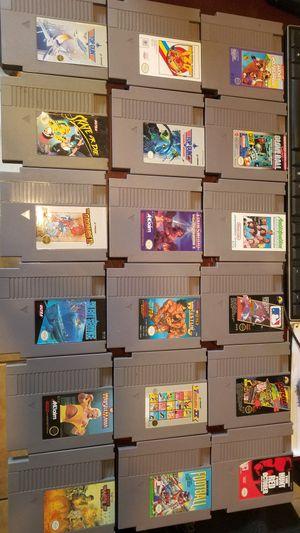 Nintendo nes games for Sale in Fresno, CA