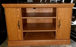 Wooden entertainment center for Sale in Halifax, NC
