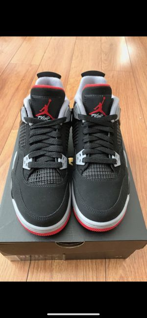 Nike Air Jordan 4 Retro Black Cement Bred Breds sz 5 DS New 2019 for Sale in Houston, TX