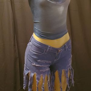 Dyed shorts with fringes designed by me for Sale in Cedar Hill, TX
