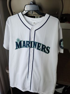 BRAND NEW MLB Seattle Mariners Edgar Martinez Baseball Jersey (Size: Adult Medium, also have Youth Large posted separately) for Sale in Lynnwood, WA