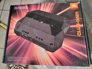 JBL amp club-5501 for Sale in Garden Grove, CA