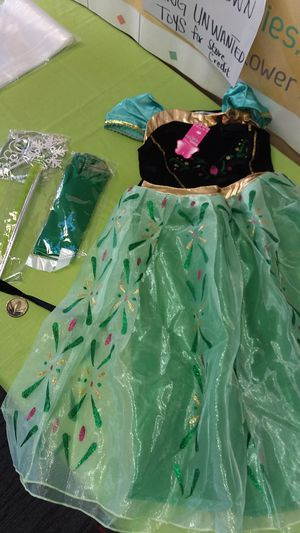 Tiana costume 6/8 for Sale in Fort Myers, FL