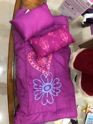 American Girl doll sleeping bag set for Sale in Miami, FL