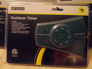 2 OUTLET OUTDOOR TIMER ***NEW*** for Sale in Newport News, VA