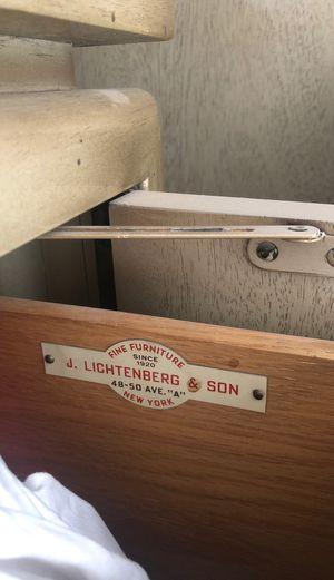 Vintage 5 piece bedroom set J Lichtenberg & Sons NYC for Sale in Silverado, CA