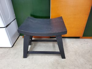 Indonesian Dark Wood Seat for Sale in Playa del Rey, CA