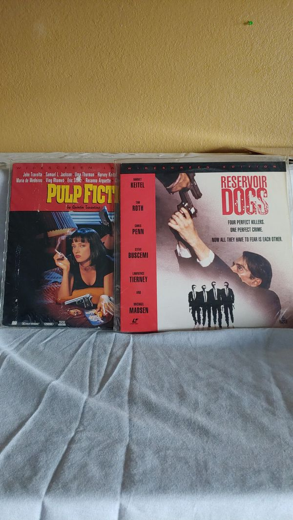 Pulp Fiction and Reservoir Dogs on Laserdisc