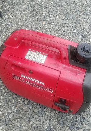 Honda generator eu2000i WORKS GREAT for Sale in Snohomish, WA