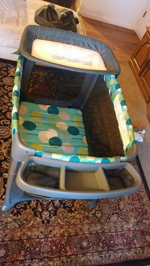 Playpin with Diaper Changing Table for Sale in Albuquerque, NM