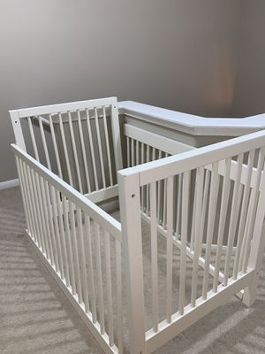 White baby crib for Sale in Round Rock, TX