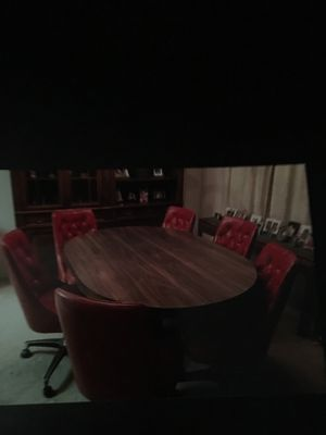 Dinette Table with 6 chairs for Sale in Scottsdale, AZ