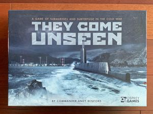 Board Game: They Come Unseen (50% off) for Sale in Sunnyvale, CA