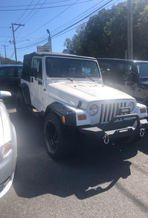 1997 Jeep Wrangler 4.0 I 6 auto for Sale in Waterbury, CT