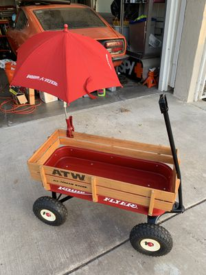 Radio Flyer Wagon with Umbrella for Sale in Chino Hills, CA
