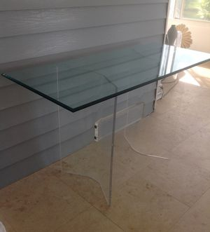 Gorgeous Midcentury Lucite Console Table for Sale in West Palm Beach, FL
