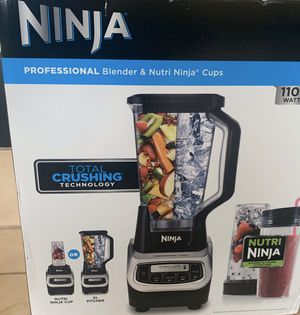 Brand new Ninja in the box NEVER USED. Never Open.. for Sale in Sacramento, CA