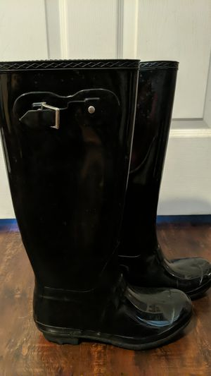 Black Galoshes Women's size 37 for Sale in Oakland, CA