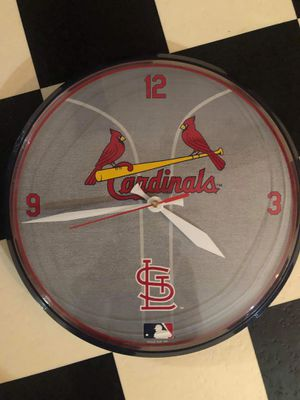 Two different cardinals clocks for Sale in Florissant, MO