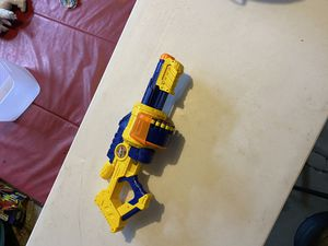 Nerf type Thompson style machine gun includes darts for Sale in Mount Prospect, IL