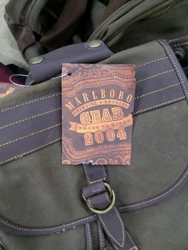 Marlboro Gear Backpack and 2 Bags