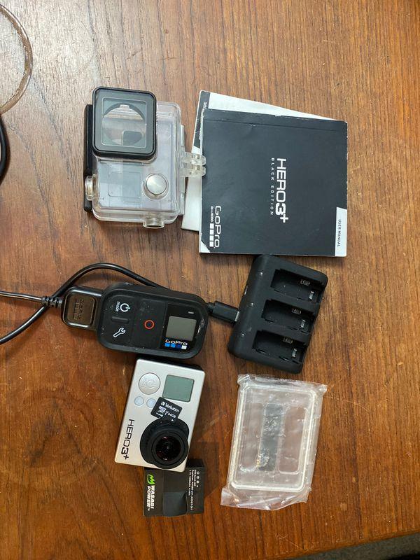 GoPro Hero 3+ Black w/ remote