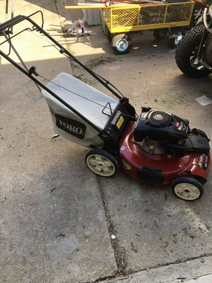 Toro self-propelled recycler mower for Sale in Benbrook, TX